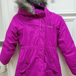 GIRLS    COLUMBIA coat    M (10/12)